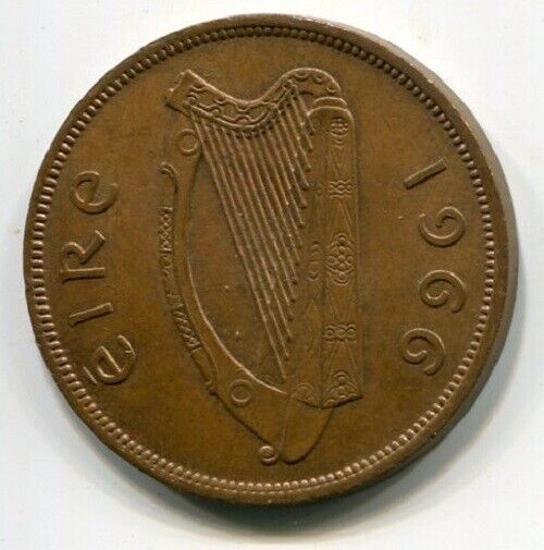 Ireland (Eire) One Penny 1966