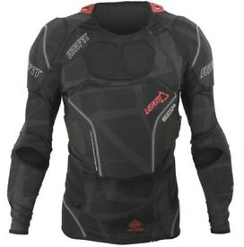 2017 Leatt 3DF AirFit Pressure Suit Body Armour Jacket M/L - Worn Twice Like New