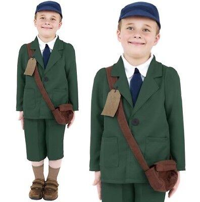 Kinder Jungen 1940s Schuljunge Kostüm Kostüm Kinder 40s Outfit von Smiffys