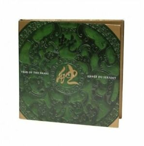 2001 Year of Snake $15 Sterling Silver Coin & Stamp Set