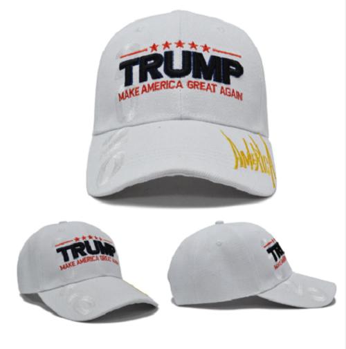MAGA President Donald Trump 2020 Make America Great Again Hat WHITE cap Collectibles