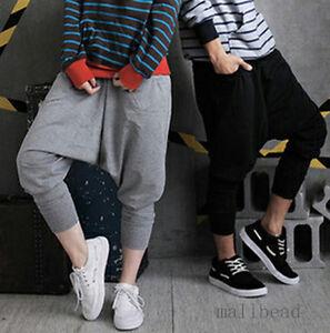 New-Men-Women-Casual-Hip-hop-Harem-Baggy-Trousers-Dance-Pants-Couple-Sweatpants