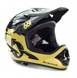 New SIX SIX ONE 661 Comp Full Face Bike Helmet DH MSRP $180
