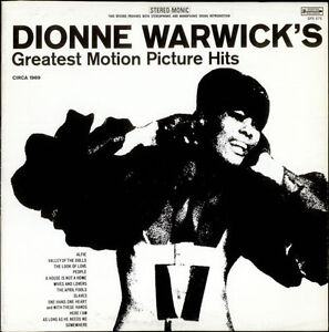 (3) DIONNE WARWICK Vinyl LPs - ALL in EX or Better - 1965 - 1975 Kitchener / Waterloo Kitchener Area image 1