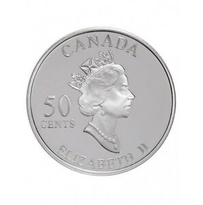 50 cents canada argent collection