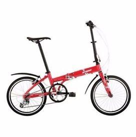"FREE Kickstand (2681) 20"" OYAMA FOLDING BIKE Lightweight Aluminium BICYCLE Height: 148-193 cm"
