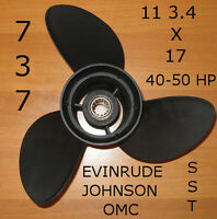Elica Fuoribordo Originale 737 Acciaio Sst 11 3/4x17 Omc Evinrude Johnson - johnson - ebay.it