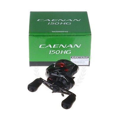 64ceea91d2f Shimano CAENAN 150 A HG Low-Profile Baitcast Reel 7.2:1 Brand New In Box