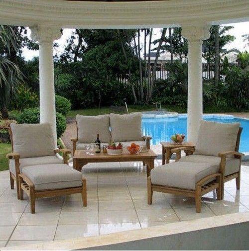 the benefits of teak patio furniture