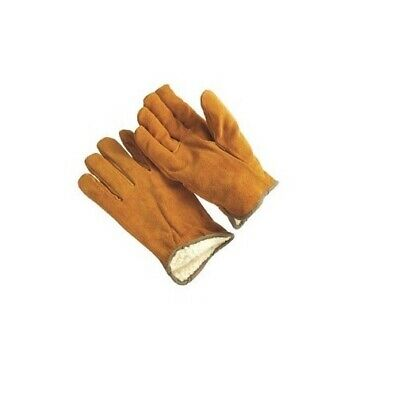 Small Leather Russet Split Insulated Drivers Glove Warm Weather G9-3210p-s