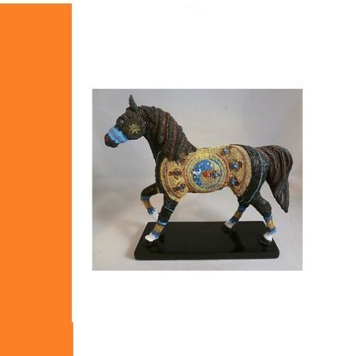 Trail of the Painted Ponies - NAVAJO BLACK BEAUTY 3E/ - Free Ship - HTF!