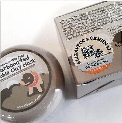 Elizavecca Milky Piggy Carbonated Bubble Clay Mask Face Blackhead Pore Cleaning