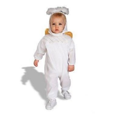 RUBIES HEAVENLY ANGEL COSTUME HALO WINGS SIZE INFANT BABY 1-9 mo MONTH - Angel Infant Costume