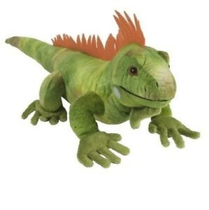 NEW-WILD-REPUBLIC-CUDDLEKINS-IGUANA-LIZARD-CUDDLY-SOFT-TOY-REPTILE-TEDDY