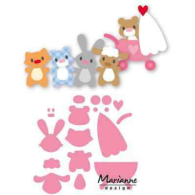 Marianne D Collectable Eline`s baby Tiere COL1422 15x21 cm 381422