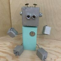Beginner Woodworking for Ages 7-9:   Robot Buddy