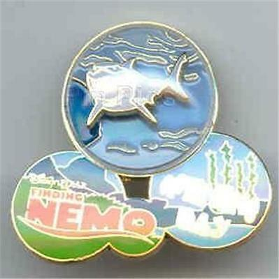 BRUCE The SHARK OPENING DAY BUBBLE DOME FINDING NEMO 2003 WDW LE 3000 DISNEY PIN