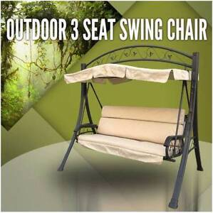 Outdoor 3 Seat Swing Chair Canopy Hanging Chair DEMO Cheltenham Kingston Area Preview