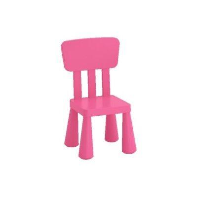 Mammut Ikea Kinderstuhl pink drinnen/draußen Sitz Möbel Garten Kita Spielen NEU  gebraucht kaufen  Monheim