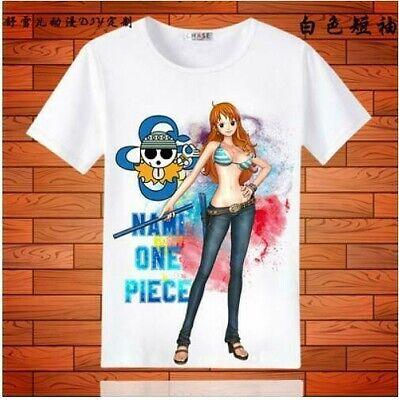 One Piece Nami Cosplay Anime Manga T-Shirt shirt Kostüme underwear - Nami One Piece Kostüm