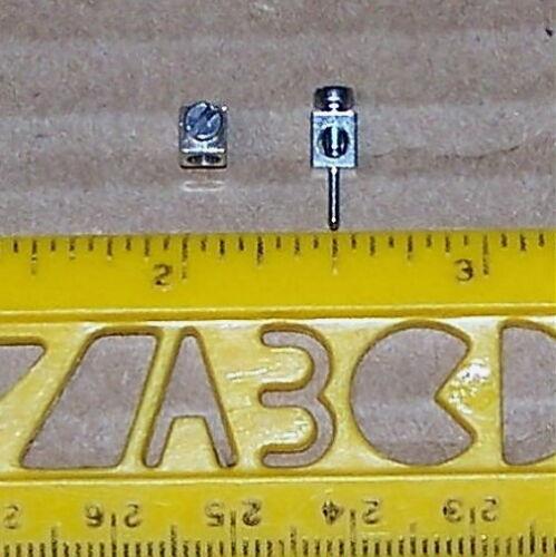 = UNIQUE = TERMINAL POST metal screw wire radio connector PC board mount 10 PCS