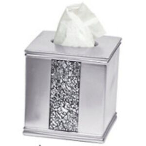 Silver Tissue Box Cover Ebay