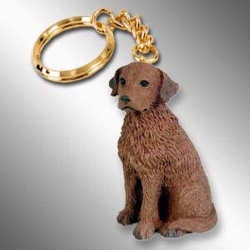 Chesapeake Bay Retriever Dog Tiny One Resin Keychain Key Chain Ring