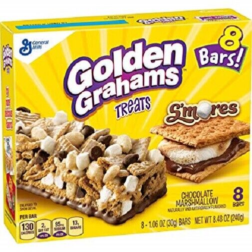 Golden Grahams Treats Chocolate Marshmallow Bars