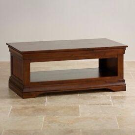 Coffee Table - Victoria Hardwood - Oak Furnitureland