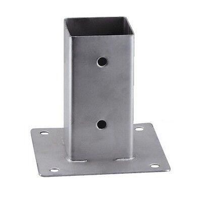 MBM Aufschraubhülse für Vierkantpfosten Pfostenträger feuerverzinkt 81x81x150 mm