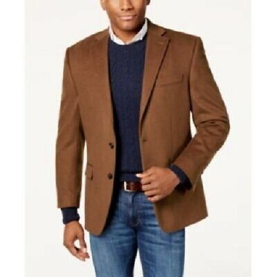 $450 Ralph Lauren Cashmere Blend Classic Fit Sport Coat 38 R Mens Brown NEW Cashmere Mens Sport Coat