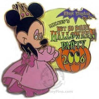 QUEEN MINNIE Princess NOT SO SCARY HALLOWEEN PARTY 2006 LE DISNEY PIN NIP - Scary Princesses