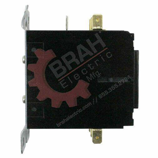 BDP3P40A480V, BRAH Electric aftermarket contactor BDP, 3P, 3PH, 40A 480V Coil