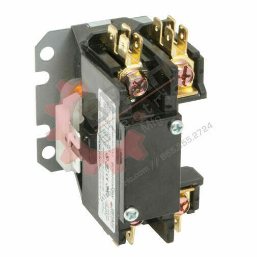 BDP1P30A277V, BRAH Electric aftermarket contactor BDP, 1P, 1PH, 30A 277V AC Coil