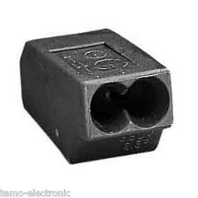 100 Stück WAGO 273-112 Dosenklemme 2 x 1,0-2,5 mm² Wagoklemmen
