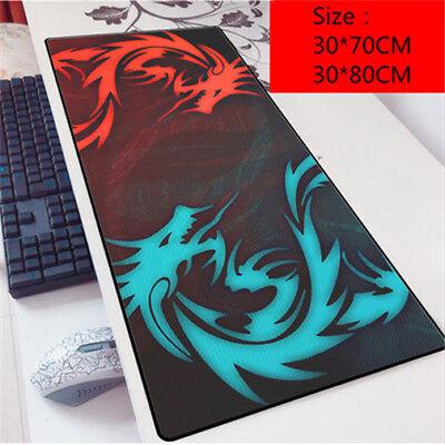 (Hot MSI Logo Gaming Mouse Pad Notbook Computer Large Keyboard Desk Mat Pad )