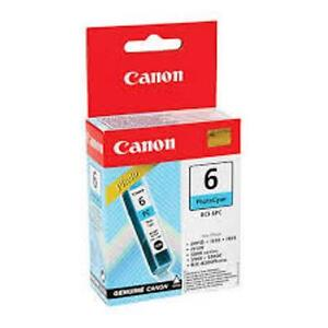Canon BCI-6PC Photo Cyan Ink Cartridge GENUINE NEW!