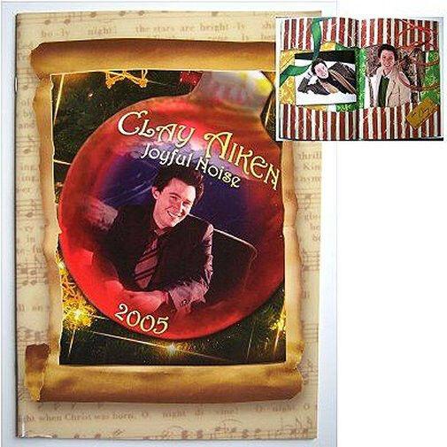 Clay Aiken 2005 Joyful Noise Christmas Tour Book New