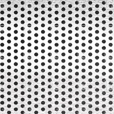 Perforated 316 Stainless Steel Sheet .120 Thick X 36 X 40 .250 Hole Dia.