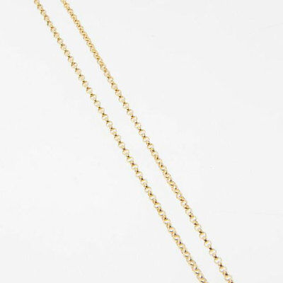 14 Inch 14k Gold Filled 1.4mm Rolo Chain Necklace, Made in USA  (14k Gold Fill Necklace)