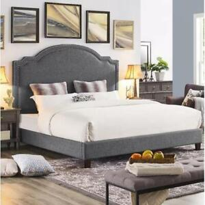 Syed California King Upholstered Platform Bed