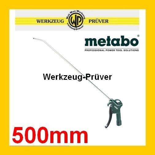 """METABO Druckluft-Ausblaspistole BP500 BP 500 500mm lang Blaspistole Pistole 1/4"""""""