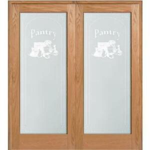 Pantry Glass French Door **NEW**