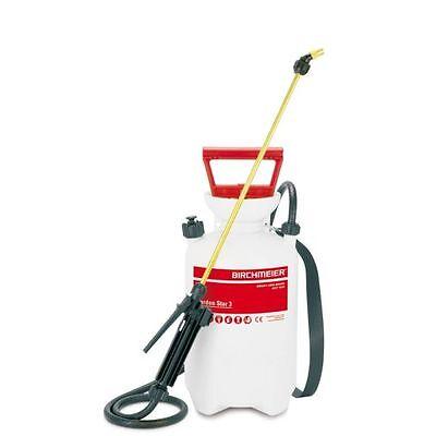 Birchmeier Garden Star Sprayer 3L Outdoor Compression Feed Fertiliser Spray