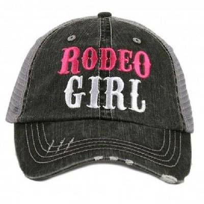 NWT Rodeo Girl Cowgirl Western Trucker Hat](Cow Girl Hats)