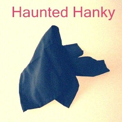 HYRUM HAUNTED HANK HANKY HANDKERCHIEF SPOOKY AMAZING UNBELIEVABLE MAGIC TRICK