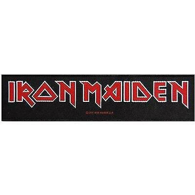 "IRON MAIDEN SUPERSTRIP PATCH # 28 ""LOGO"""