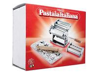 Pasta machine set - Imperia Pastaia Italiana. Complete set in box, hardly used