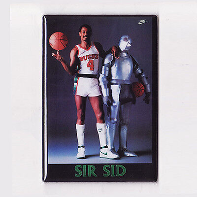 SIDNEY MONCRIEF / SIR SID - POSTER MAGNET (nike costacos milwaukee bucks jersey)