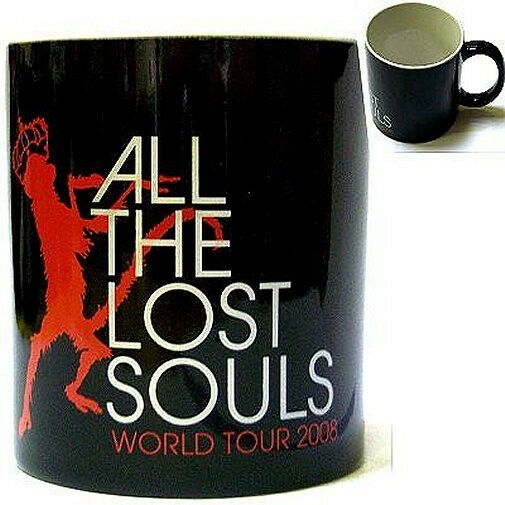 James Blunt Lost Souls Tour 2008 Black Coffee Cup Mug New